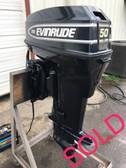 """1994 Johnson/Evinrude 50 HP 2 Cylinder 2-Stroke 20"""" Outboard Motor"""