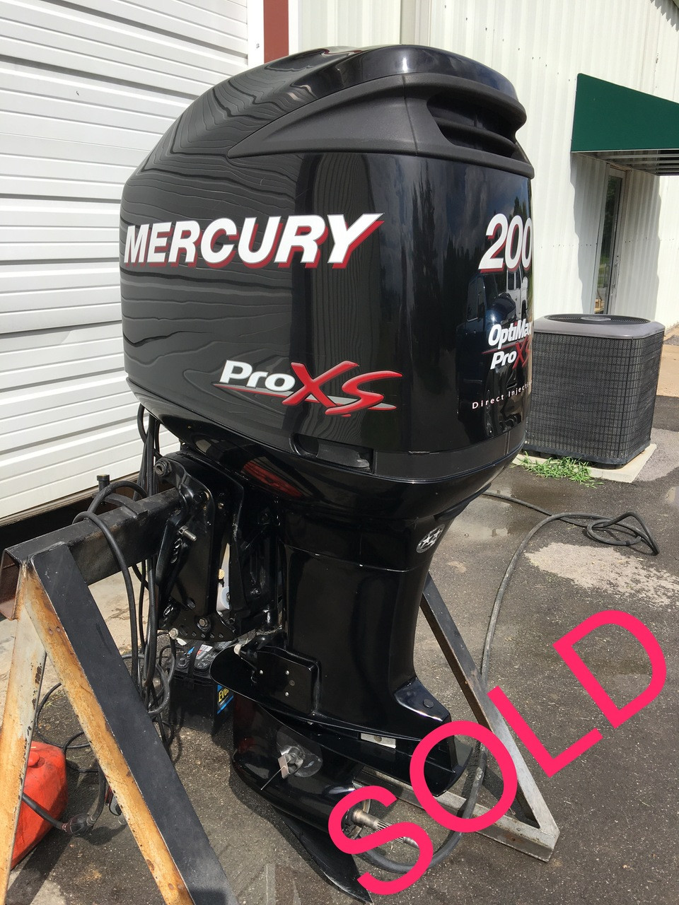 2011 Mercury 200 HP Optimax ProXS DFI V6 2 Stroke 20