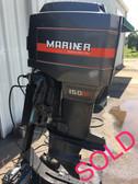 """1984 Mariner 150 HP V6 2-Stroke 20"""" Outboard Motor"""