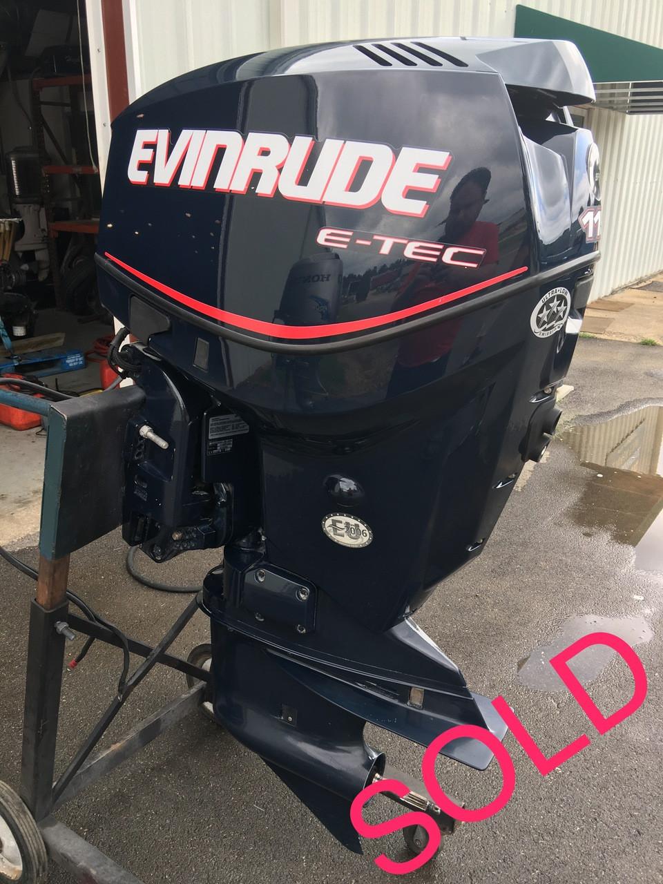 2007 Evinrude 115 HP ETec V4 2-Stroke 20
