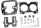 New Aftermarket Johnson/Evinrude Viton 4/6 Cylinder Crossflow Carburetor Kit  [Replaces OEM 439076]