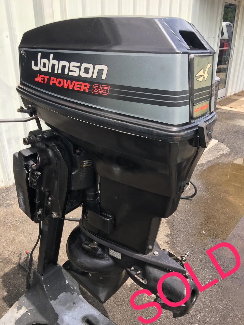 1993 Johnson 50/35 HP JetDrive 2 Cylinder 2-Stroke Outboard