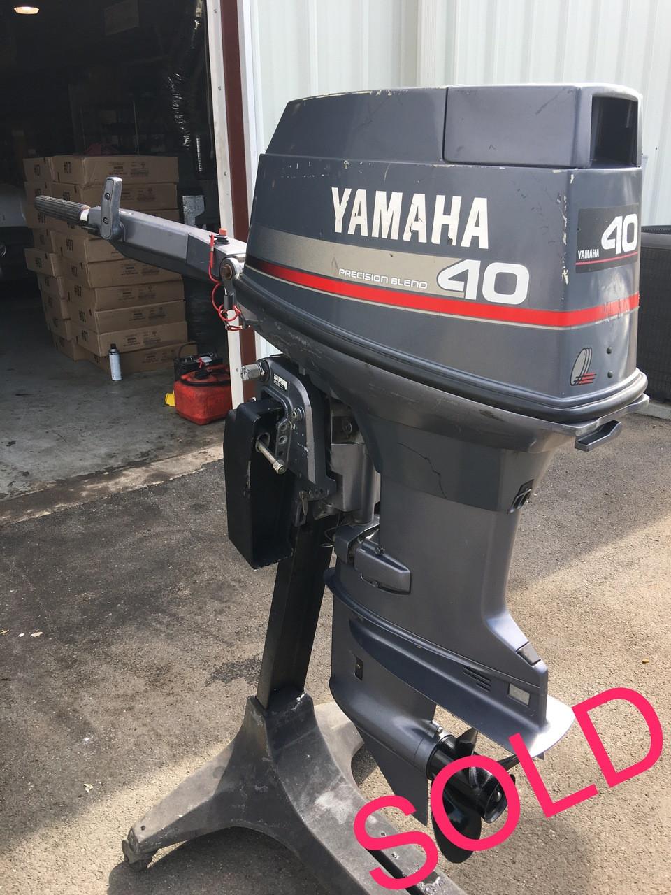 yamaha  hp  cylinder  stroke  tiller outboard