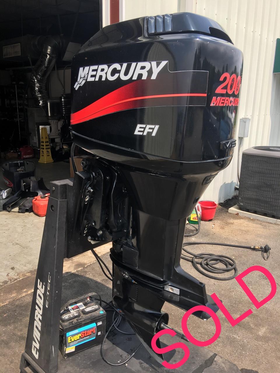 2000 Mercury 200 HP EFI V6 2-Stroke 20
