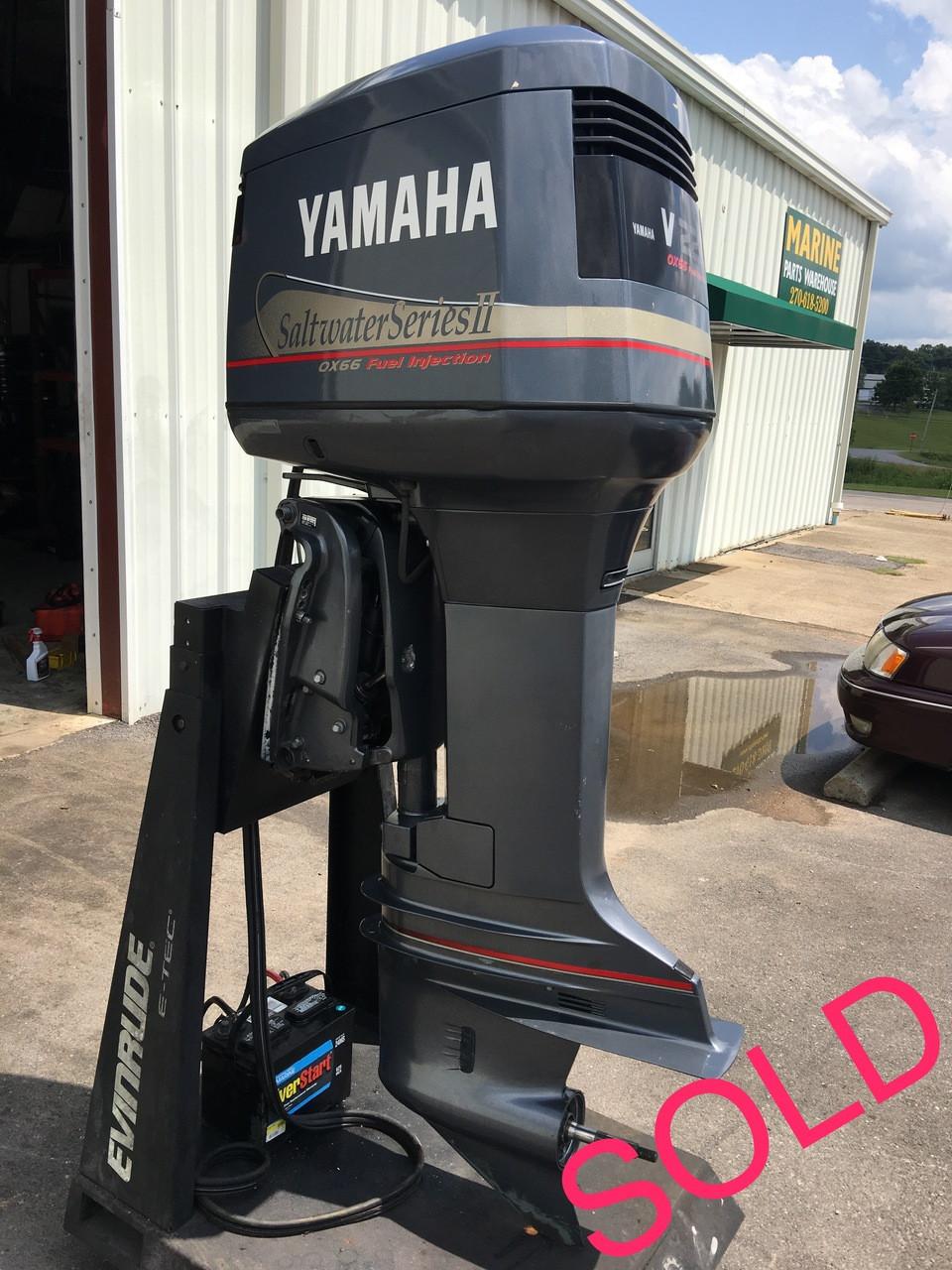 2001 Yamaha V225 Saltwater Series II OX66 Fuel Injection 3 1