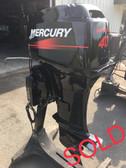 "2001 Mercury 40 HP 2 Cylinder 2-Stroke 20"" Outboard Motor"