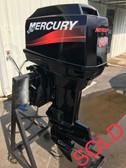 "1994 Mercury 60 HP 3 Cylinder 2-Stroke 20"" Outboard Motor"