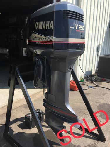 2001 yamaha 250 hp saltwater series ii v6 2 stroke 30 for Yamaha saltwater series ii