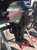 "1997 Mercury 200 HP EFI V6 2-Stroke 20"" Outboard Motor"