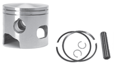 New Red Rhino Big Bore Cast Piston for Johnson/Evinrude V4/V6 Looper Powerhead [1988-2001]