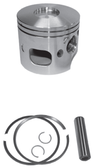 New Red Rhino Cast Piston for Johnson/Evinrude V6 90° Looper Ficht 3.3L Powerhead [2001-2005]