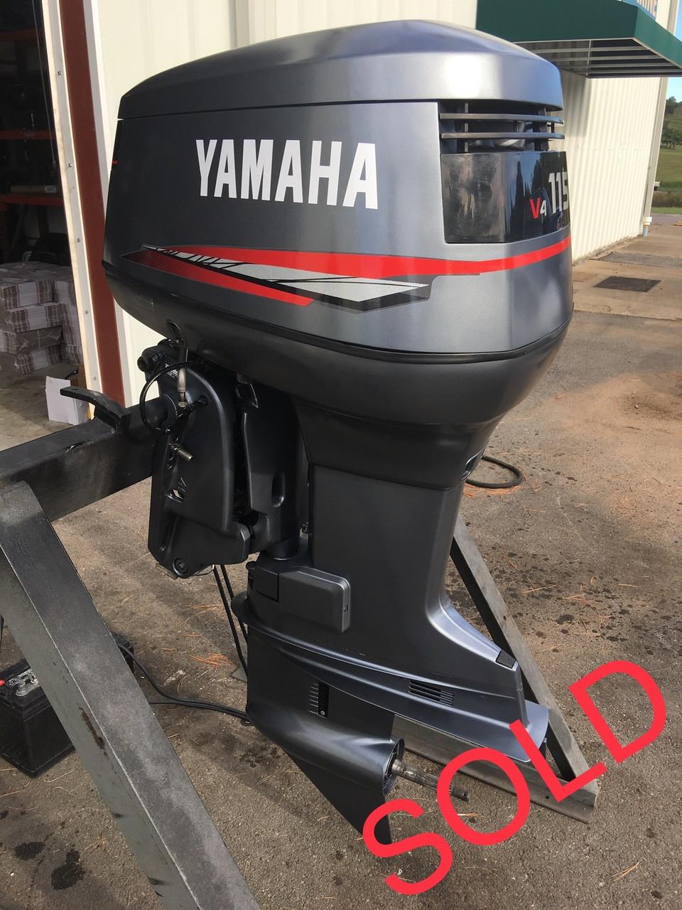 2001 Yamaha 115 Hp V4 2