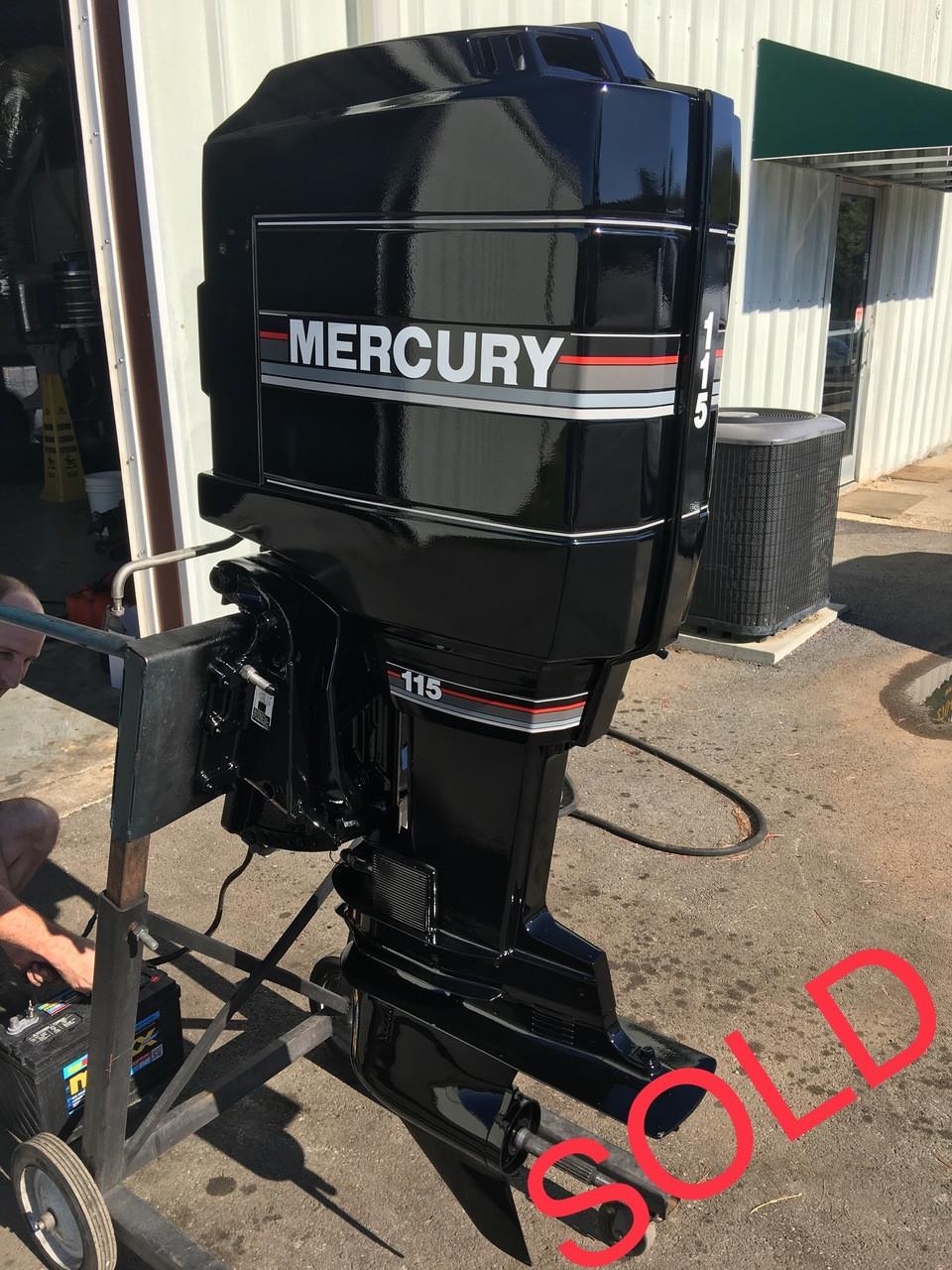 1990 mercury 115 hp 4 cylinder carbureted 2 stroke 20\