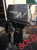 "2001 Nissan 40 HP 3 Cylinder 2-Stroke 20"" Outboard Motor"