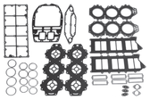 New Aftermarket Yamaha V6 3.1L 200/225/250 HP Powerhead Gasket Kit [1990-1996] [Replaces OEM# 61A-W0001-A1-00]