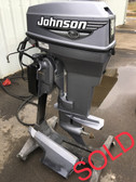 "New Unused 2000 Johnson 50 HP 2 Cylinder 2-Stroke 20"" Outboard Motor"