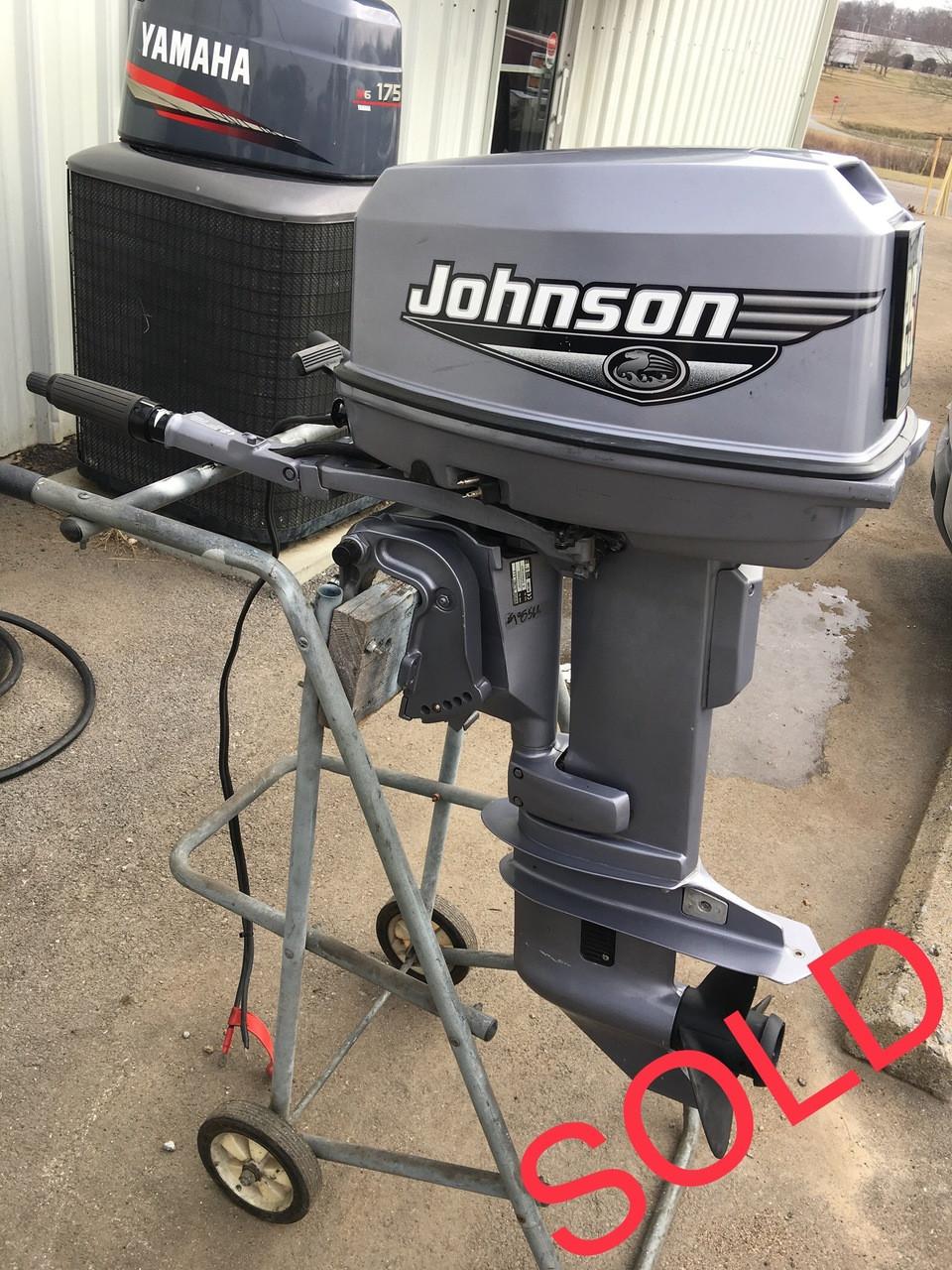 2000 Johnson 25 HP 2 Cylinder 2-Stroke 15