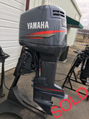 "2000 Yamaha 175 HP 2.6L V6 Carbureted 2 Stroke 25"" Outboard Motor"