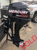 """2013 Mercury 9.9HP ProKicker 2 Cylinder 4 Stroke 20"""" Aux Outboard Motor"""