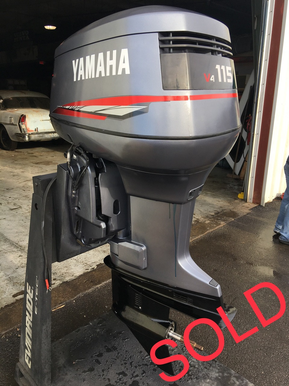 2004 Yamaha 115 Hp V4 2 Stroke 20 U0026quot  Outboard Motor