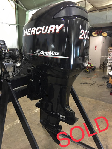 Img on 200 Hp Mercury Outboard Motor