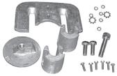 New Aftermarket Mercruiser Bravo Aluminum Anode Kit [Replaces OEM# 888757Q02]
