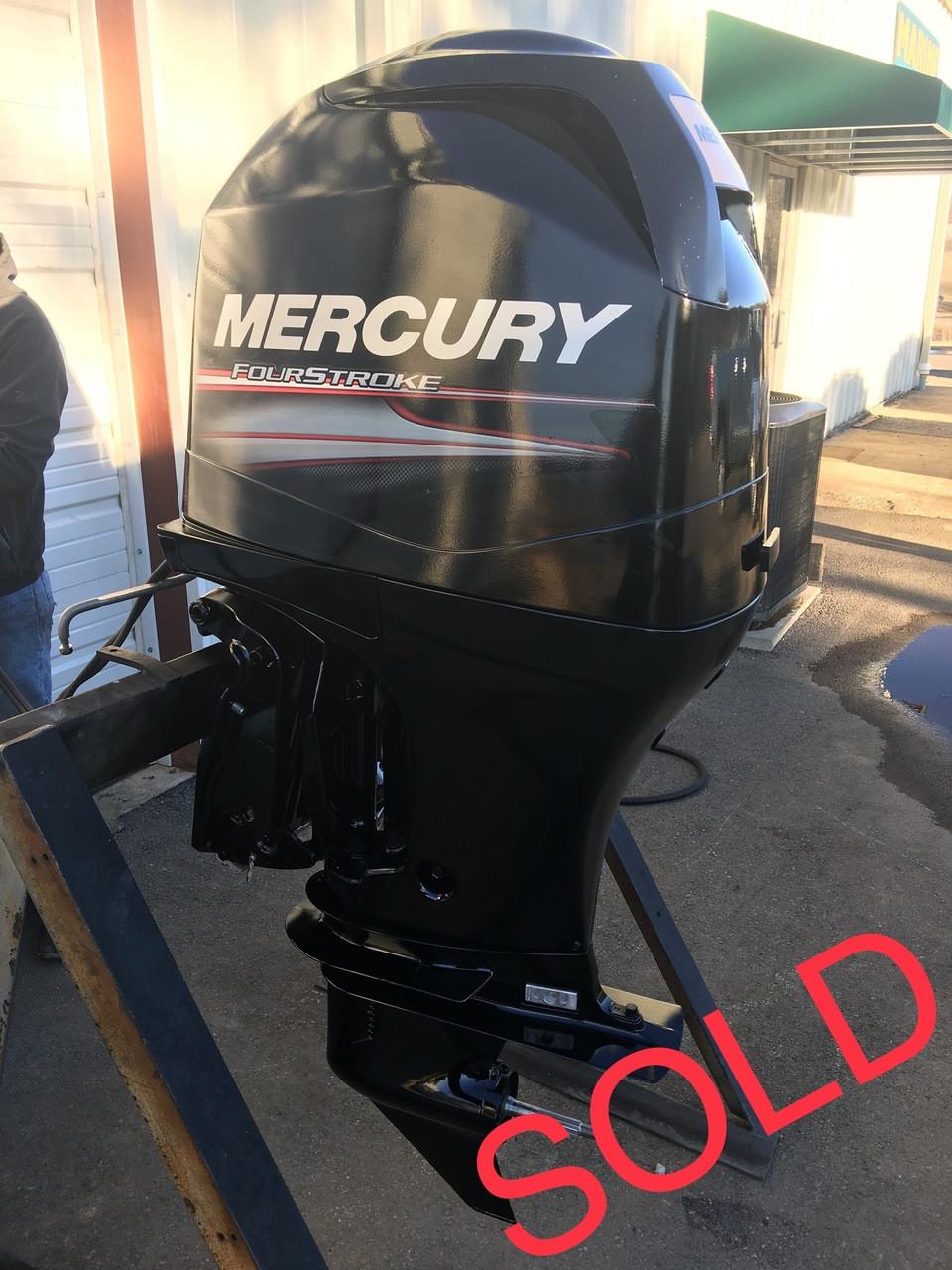 2007 Mercury 115 Hp 4 Cylinder 4 Stroke 20 U0026quot  Outboard Motor