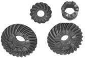 New Aftermarket OMC Sterndrive 5° Cut Gear Set w/Clutch Dog [1992-1993] [Replaces OEM#s 987670, 915273, 915272]