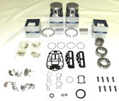New Johnson/Evinrude 90/115 HP V4 60° Carbureted Powerhead [1995-1999] Rebuild Kit