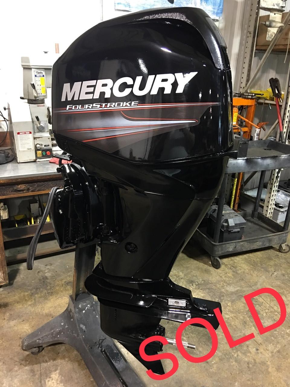 2008 Mercury 60 HP 4 Cylinder 4 Stroke 20