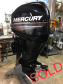"2008 Mercury 60 HP 4-Cylinder 4 Stroke 20"" Bigfoot Outboard Motor"