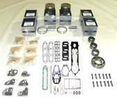 New Mercury/Mariner 210 HP 2.5L Carbureted SportJet 6-CYL Powerhead Rebuild Kit [2000-2005]