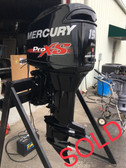 "2013 Mercury 150 HP ProXS V6 2 Stroke 25"" Outboard Motor"