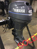 "2000 Yamaha 40 HP 3 Cylinder Carbureted 4 Stroke 20"" Outboard Motor"