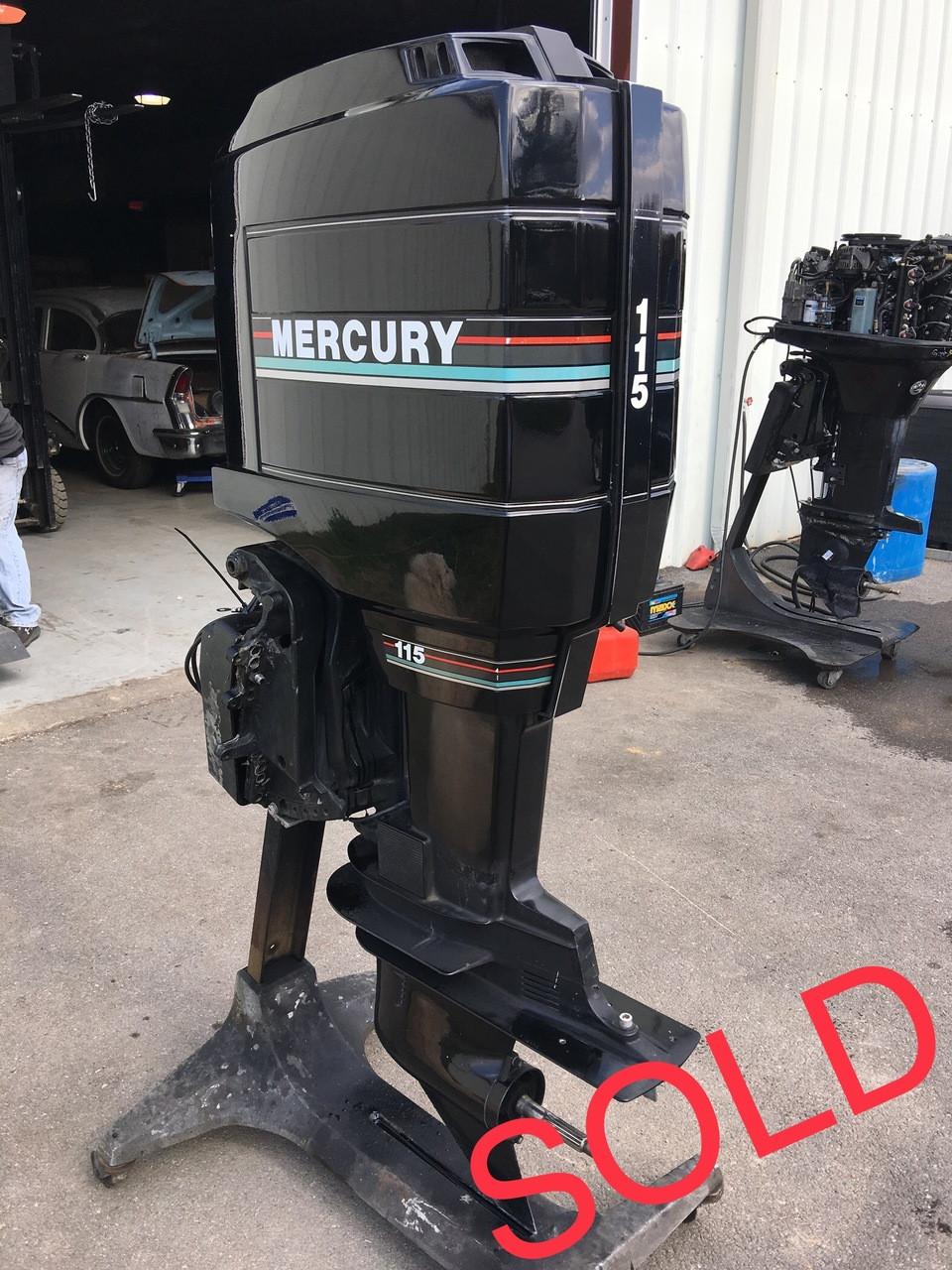 1993 Mercury 115 HP 4 Cylinder 2 Stroke 20
