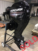 "2014 Mercury 60 HP 4 Cylinder 4 Stroke 25"" Bigfoot Outboard Motor"