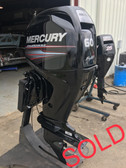 "2011 Mercury 60 HP 4-Cylinder 4 Stroke 20"" Bigfoot Outboard Motor"