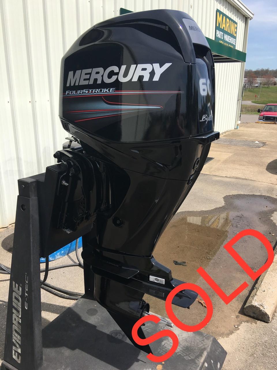 2011 Mercury 60 HP 4-Cylinder 4 Stroke 20