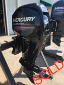 "2008 Mercury 60 HP 4 Cylinder 4 Stroke 20"" Bigfoot Outboard Motor"