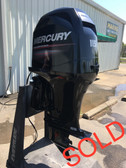 "2008 Mercury 115 HP 4 Cylinder 4 Stroke 20"" Outboard Motor"
