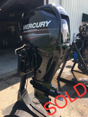 "2010 Mercury 60 HP 4 Cylinder 4 Stroke 20"" Bigfoot Outboard Motor"