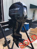 "2014 Mercury 60 HP 4 Cylinder 4-Stroke 25"" Bigfoot Outboard Motor"