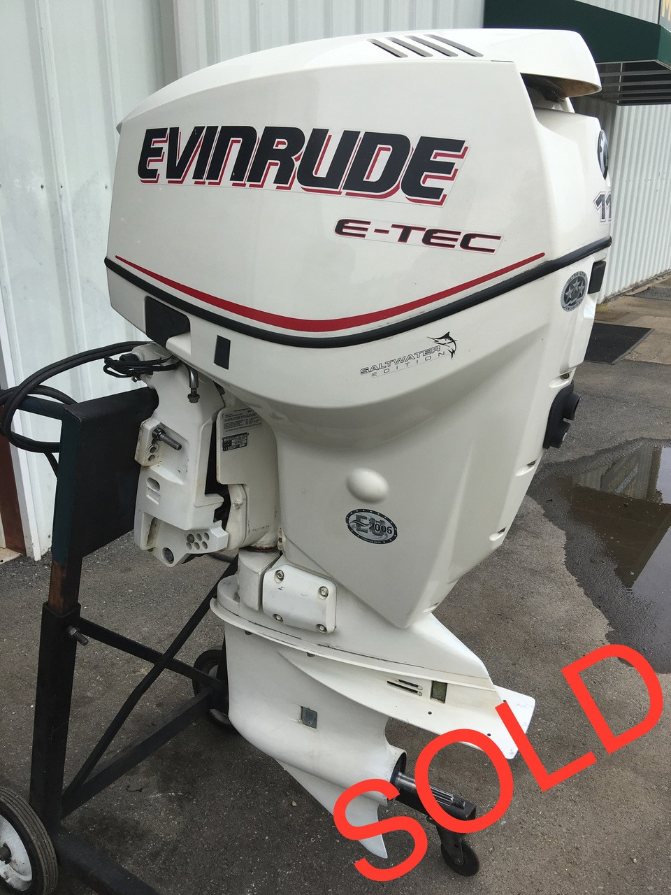 2007 Evinrude 115 HP ETec V4 2 Stroke DFI 20