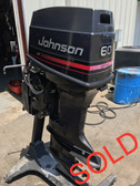 "1992 Johnson 60 HP 3 Cylinder Carbureted 2 Stroke 20"" Outboard Motor"