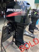 "2010 Mercury 50 HP 3 Cylinder Carbureted 2 Stroke 20"" Outboard Motor"