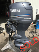 "2001 Yamaha 50 HP 4 Cylinder Carbureted 4 Stroke 20"" Outboard Motor"