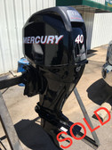 "2012 Mercury 40 HP 4 Cyl 4 Str 20"" Bigfoot Outboard Motor - ONLY 53 HRS!!"