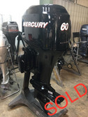 "2001 Mercury 60 HP 4 Cylinder Carbureted 4 Stroke 20"" Bigfoot Outboard Motor"