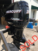 "2009 Mercury 225 HP V6 DFI 2 Stroke Optimax 20"" Outboard Motor"