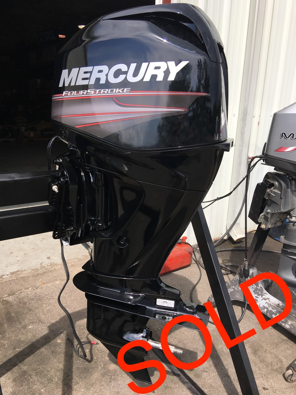 2013 Mercury 60 HP 4 Cylinder 4 Stroke 20